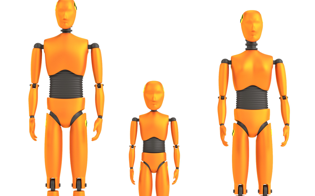 Male or Female Crash Test Dummies?