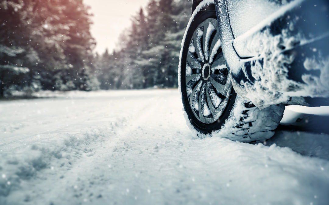 How to Safely Correct a Slide on an Icy Road